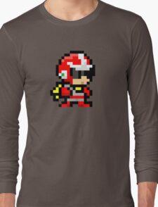 Proto man pixel art  Long Sleeve T-Shirt