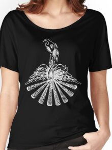 Phoenix in white Women's Relaxed Fit T-Shirt