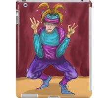 Jester On Stage   iPad Case/Skin