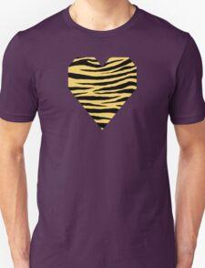 0472 Orange Yellow Tiger Unisex T-Shirt