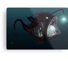 Deep sea angler - Diceratias nassa Metal Print