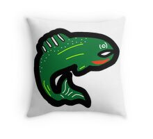 American Trout Throw Pillow