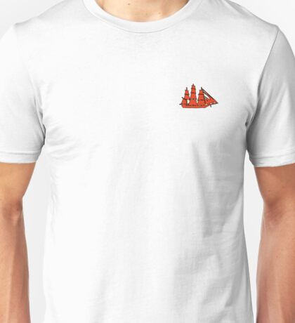 Shipping Up to Boston Unisex T-Shirt