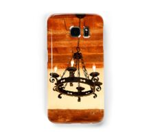 Mission Chandelier with Anachronistic Lightbulbs Samsung Galaxy Case/Skin