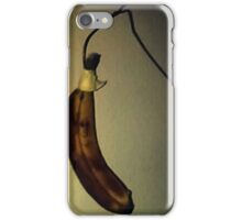 A Banana that looks cool iPhone Case/Skin