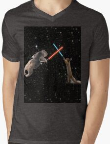 Star Wars the Koala strikes back Mens V-Neck T-Shirt
