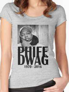 Phife Dawg - Black Women's Fitted Scoop T-Shirt