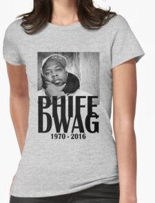 Phife Dawg - Black Womens Fitted T-Shirt