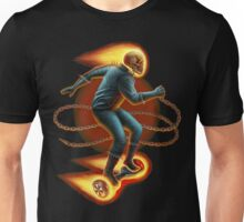 Ghost Rider On A Hoverboard Unisex T-Shirt
