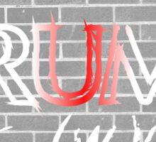 Trump for (w)all! Sticker