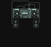 DJ mixer sound turntables Unisex T-Shirt