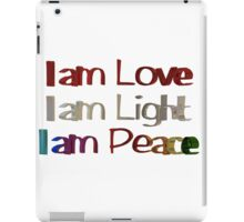 I am Love iPad Case/Skin
