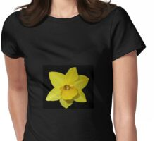 Golden Daffodil Womens Fitted T-Shirt