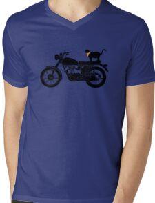 Purrfect Roadtrip Funny Woman Tshirt Mens V-Neck T-Shirt