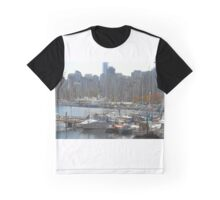Boats & Buildings Graphic T-Shirt