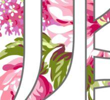 Floral Beartooth Design Sticker