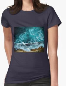 Amalphi coast, Naples, Italy Womens Fitted T-Shirt