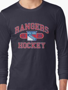New York Rangers Long Sleeve T-Shirt