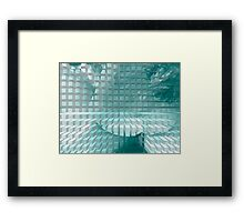 Abstract pattern 18 Framed Print