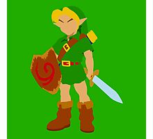 Ocarina of Time - Young Link Photographic Print