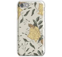 Pale Floral iPhone Case/Skin