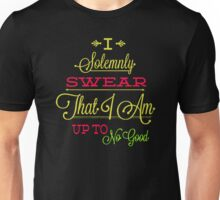 Solemnly swear that i am up to no good Funny Woman Tshirt Unisex T-Shirt