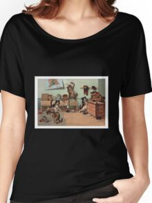 Louis Wain - Kittens Creating a CATastrophy Women's Relaxed Fit T-Shirt