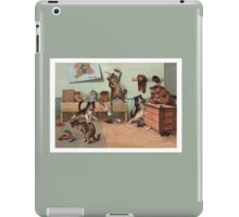 Louis Wain - Kittens Creating a CATastrophy iPad Case/Skin