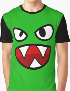 Fang Funny Face Graphic T-Shirt