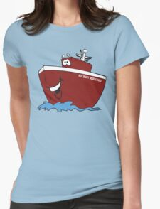 RSS Boaty McBoatface Womens Fitted T-Shirt