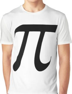 Pi black Graphic T-Shirt