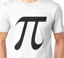 Pi black Unisex T-Shirt