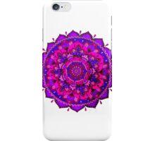 Pink & purple mandala iPhone Case/Skin