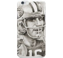 Joe Montana caricature by Sheik iPhone Case/Skin