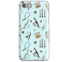 Swords & Shields & Maces, Oh My! iPhone Case/Skin