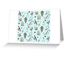 Swords & Shields & Maces, Oh My! Greeting Card