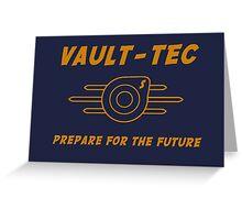VAULT TEC 1 Greeting Card