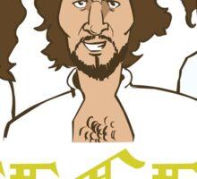The Bee Gees Cartoon  Sticker