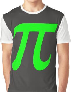 Pi - Green Lima Graphic T-Shirt