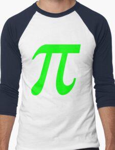 Pi - Green Lima Men's Baseball ¾ T-Shirt