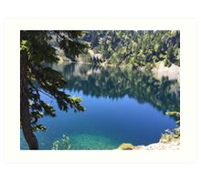 Snow Lake, Washington Art Print