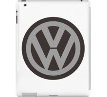 logo vw iPad Case/Skin