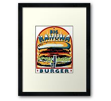 Big Kahuna Burger Fiction Framed Print
