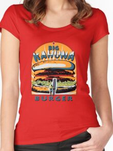 Big Kahuna Burger Fiction Women's Fitted Scoop T-Shirt