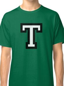 Letter T two-color Classic T-Shirt
