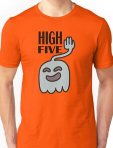 High Five Ghost Says High Five Unisex T-Shirt