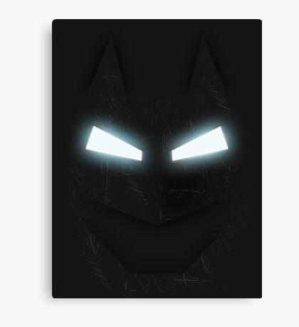 Bat Armour Canvas Print