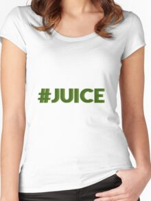 #juice Women's Fitted Scoop T-Shirt