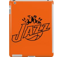 utah jazz iPad Case/Skin