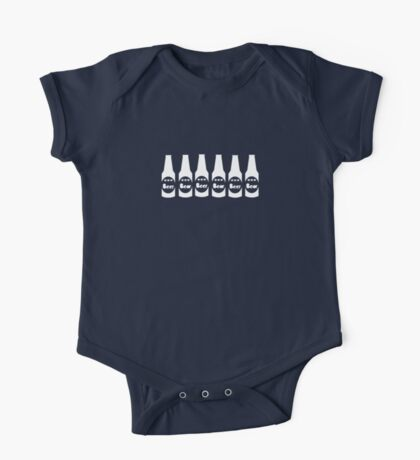 Six Pack Beer - Bier T-Shirt - Fitness Drinking Abs Sticker One Piece - Short Sleeve